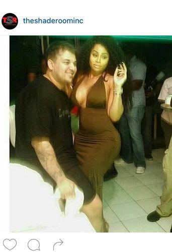 Blac Chyna et Rob Kardashian : léchouilles en Jamaïque !