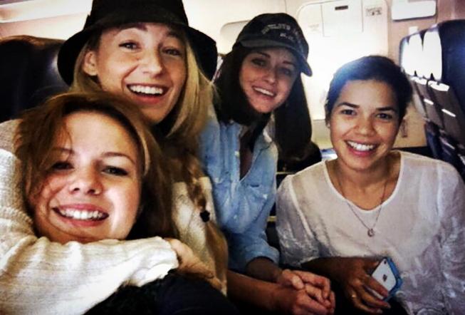 Blake Lively fait une magnifique d�claration � ses amies de 4 filles et 1 jean !