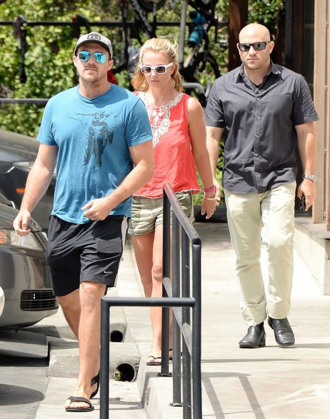 Britney Spears : déjeuner sans les kids pour elle et son chéri David Lucado !