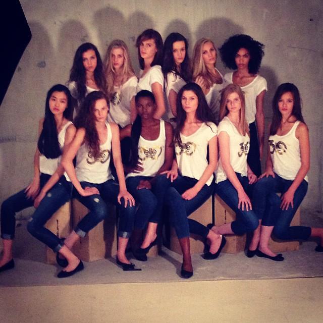 Les 12 finalistes Elite Model Look France