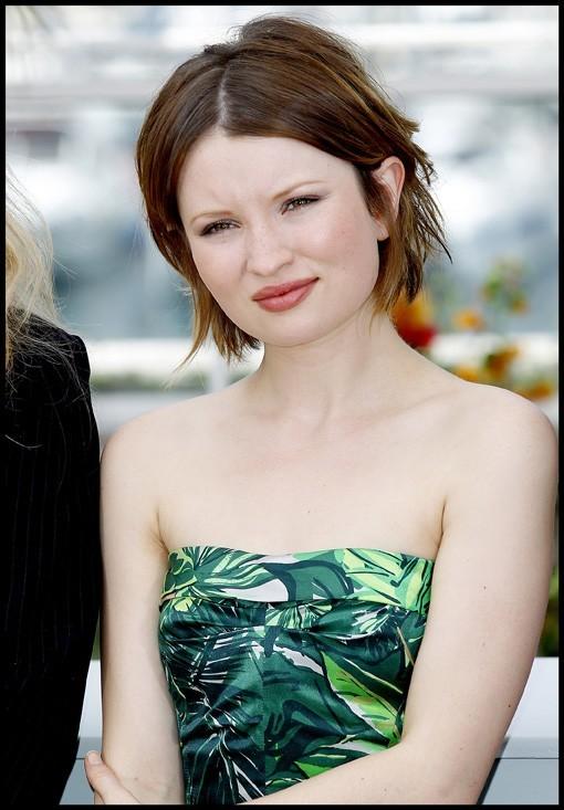 Emily Browning lors du photocall du film Sleeping Beauty à Cannes, le 12 mai 2011.