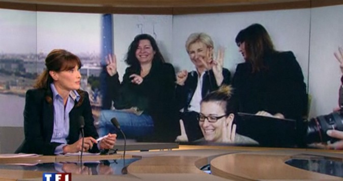 Carla Bruni Sarkozy : félicitée par Jean-Pierre Pernaut !