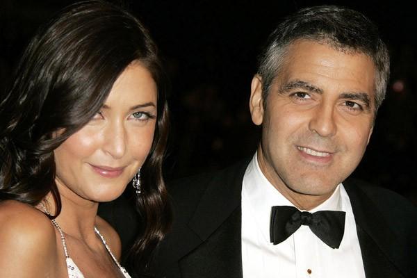 George Clooney et Lisa Snowdon