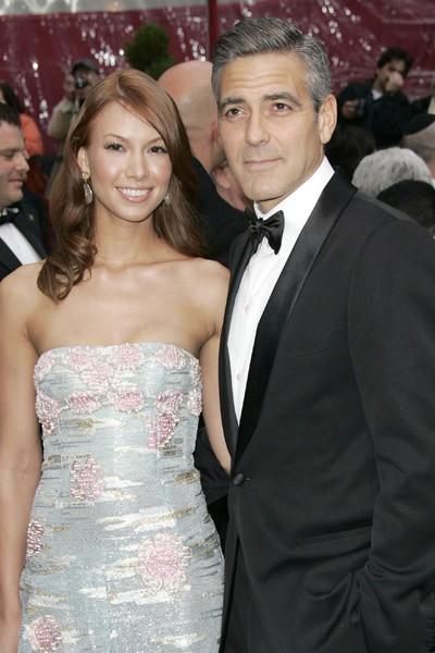 George Clooney et Sarah Larson
