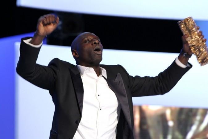 Vous souvenez de la joie d'Omar Sy, César 2012 du meilleur second rôle masculin