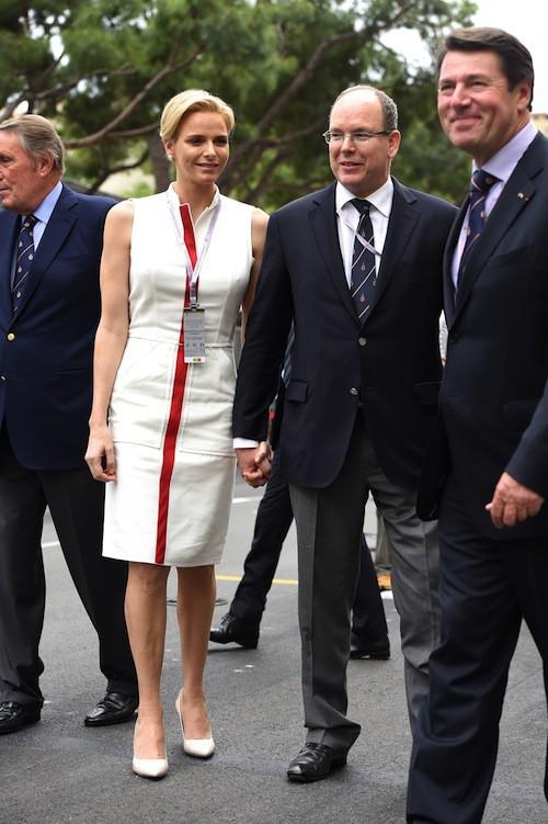 Après de nombreuses rumeurs de séparation, le couple s'affiche uni, comme ici à Monte Carlo