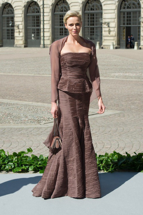 Charlène Wittsock une nouvelle fois seule pour un mariage royal