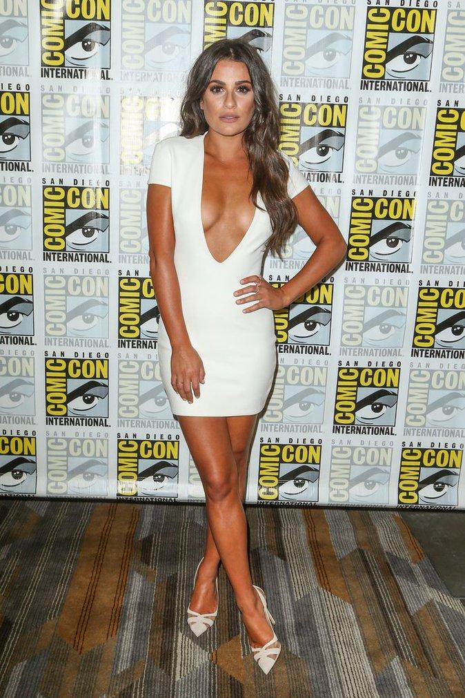 Lea Michele a fait sensation au Comic-Con