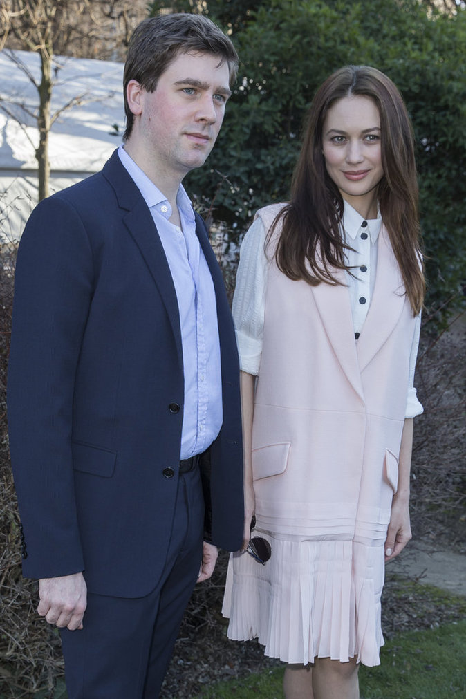 Olga Kurylenko et son mari