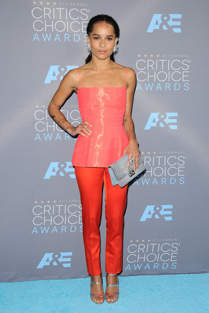 Zoe Kravitz, un look original sur le red carpet !