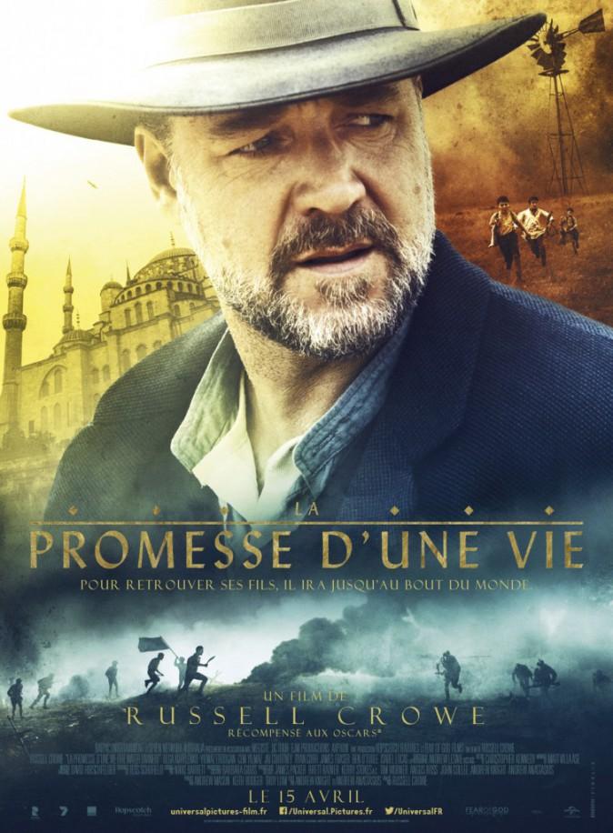 Ciné : Les Promesses d'une vie, de et avec Russell Crowe et aussi Olga Kurylenko (1h51).