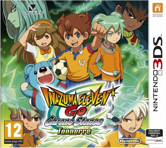Inazuma Eleven Go Chrono Stones : Tonnerre ou Brasier, Nintendo 3DS. 44,90 €.