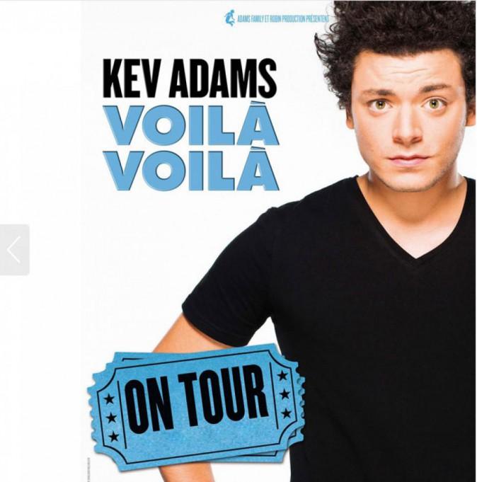 Tournée : Kev Adams et son one man show Voilà Voilà