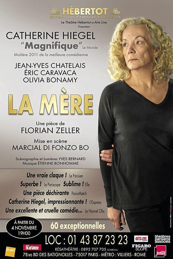 La Mère, de Florian Zeller avec Catherine Hiegel, Éric Caravaca et Olivia Bonamy, au Théâtre Hébertot. Dès 41,90 € sur fnacspectacles.com