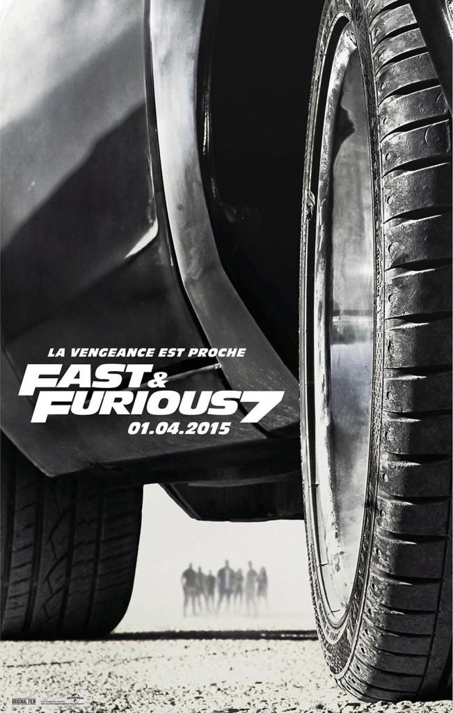Fast & Furious 7 : En salles le 01/04/15