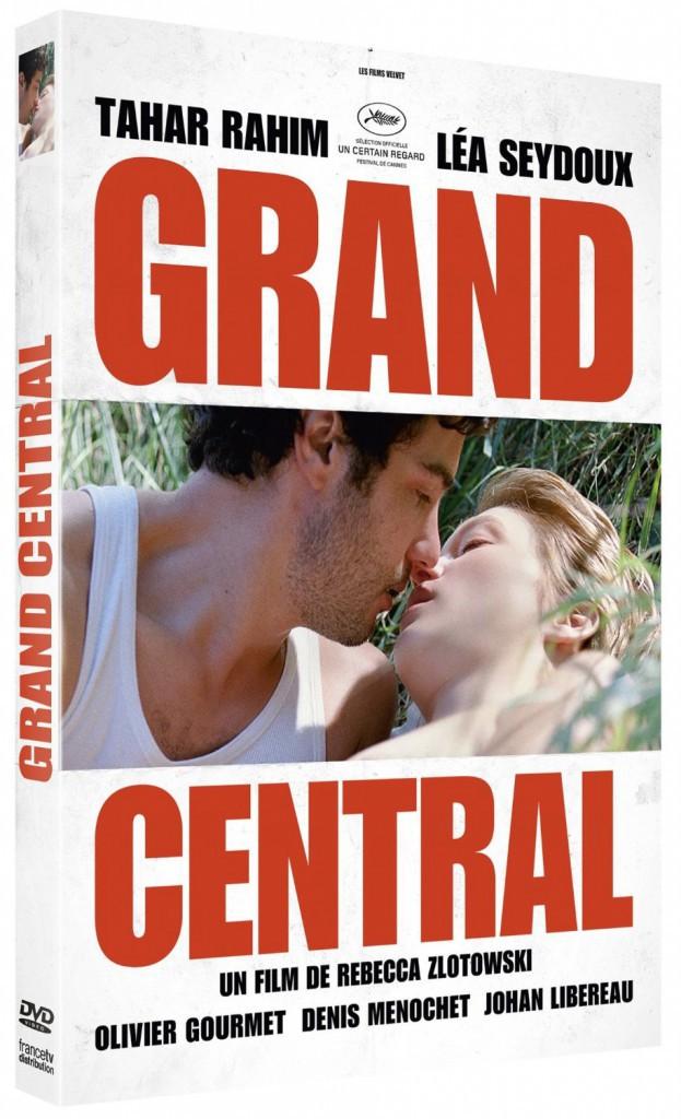Grand Central de Rebecca Zlotowski avec Tahar Rahim et Léa Seydoux, Francetv distribution. 19,99 €.