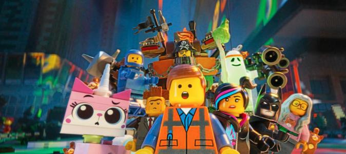 La Grande Aventure Lego de Phil Lord et Christopher Miller avec les voix françaises d'Arnaud Ducret et Tal (1h40)