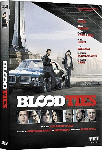 Blood Ties avec Billy Crudup et Clive Owen.