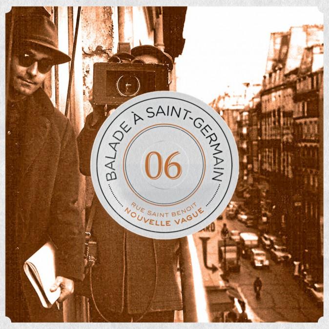 Balade à Saint-Germain, vol6-Rue Saint-Benoît : nouvelle vague Collectif, Discograph. 8,99 €.