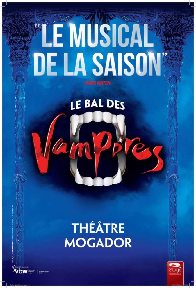 Le Bal des vampires, jusqu'au 28 juin, au Théâtre Mogador (Paris 9e). Dès 25 € sur billetreduc.com