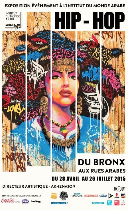 Hip-Hop, du Bronx aux rues arabes, jusqu'au 26 juillet à l'Institut du monde arabe, 1, rue des Fossés-Saint- Bernard, Paris 5e. Dès 5 €...