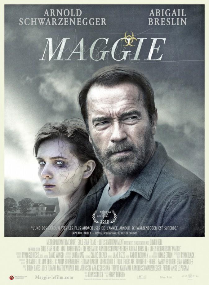 Maggie, de Henry Hobson avec Arnold Schwarzenegger et Abigail Breslin (1h35).