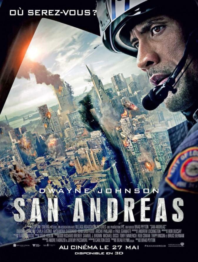 San Andreas, de Brad Peyton avec Dwayne Johnson et Carla Gugino (1h47).