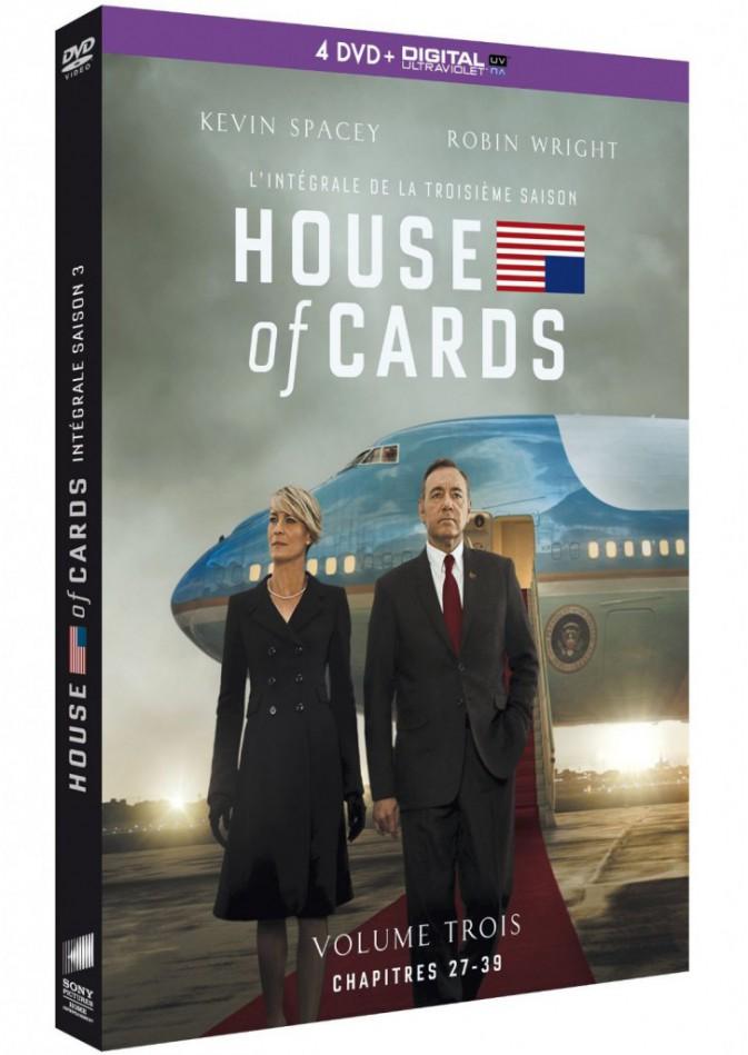 House of Cards, saison 3, SPHE. 29,99 €.