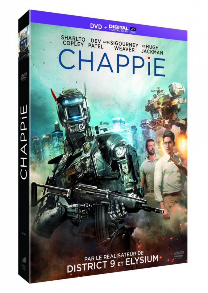 Chappie, de Neill Blomkamp avec Dev Patel et Hugh Jackman. 17,99 €.