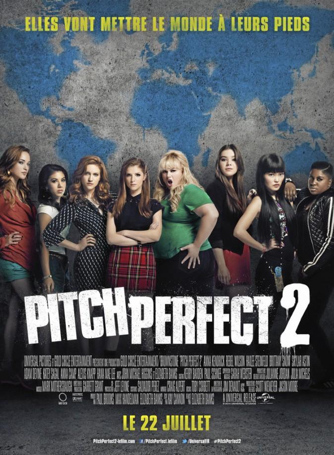 Pitch Perfect 2 d'Elizabeth Banks avec Anna Kendrick, Rebel Wilson et Hailee Steinfeld. En salle le 22/07/15
