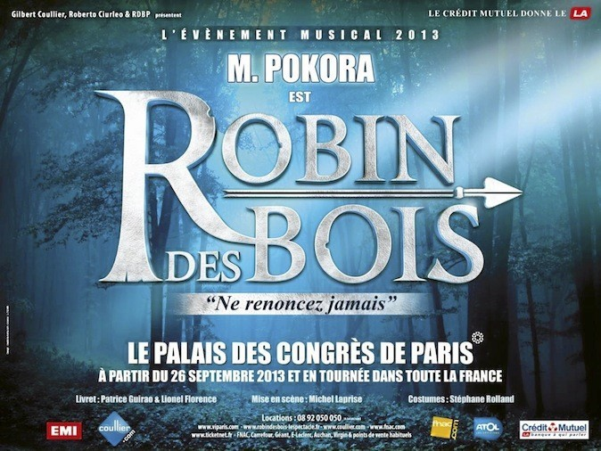 M. Pokora dans Robin des bois