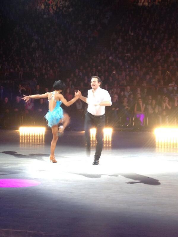 Philippe Candeloro et Coralie Licata