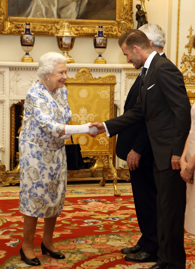 David Beckham au Queen's Young Leaders of 2016
