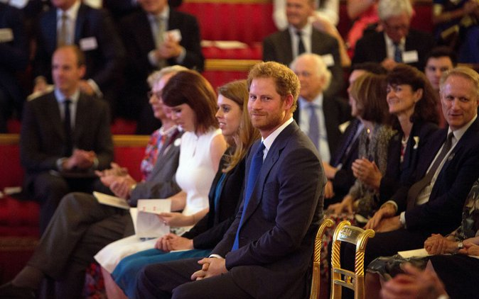 Le Prince Harry au Queen's Young Leaders of 2016