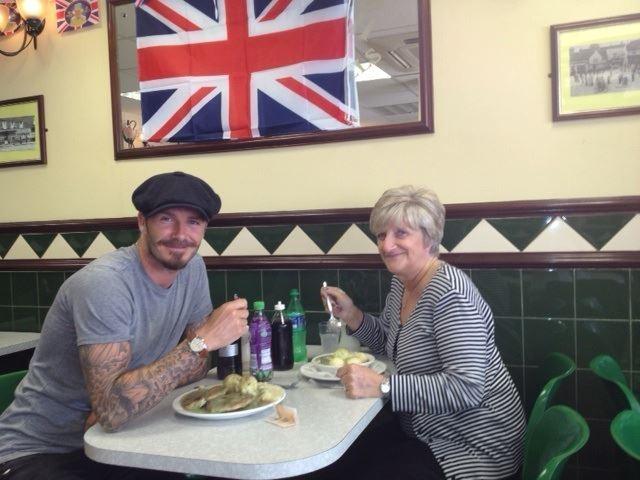 Un bon déjeuner avec sa mère