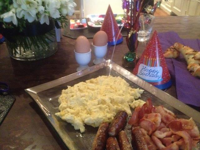 Un petit déjeuner de champion