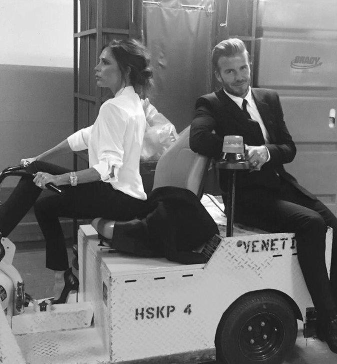 Victoria Beckham et David Beckham, toujours aussi adorables après 17 ans de mariage