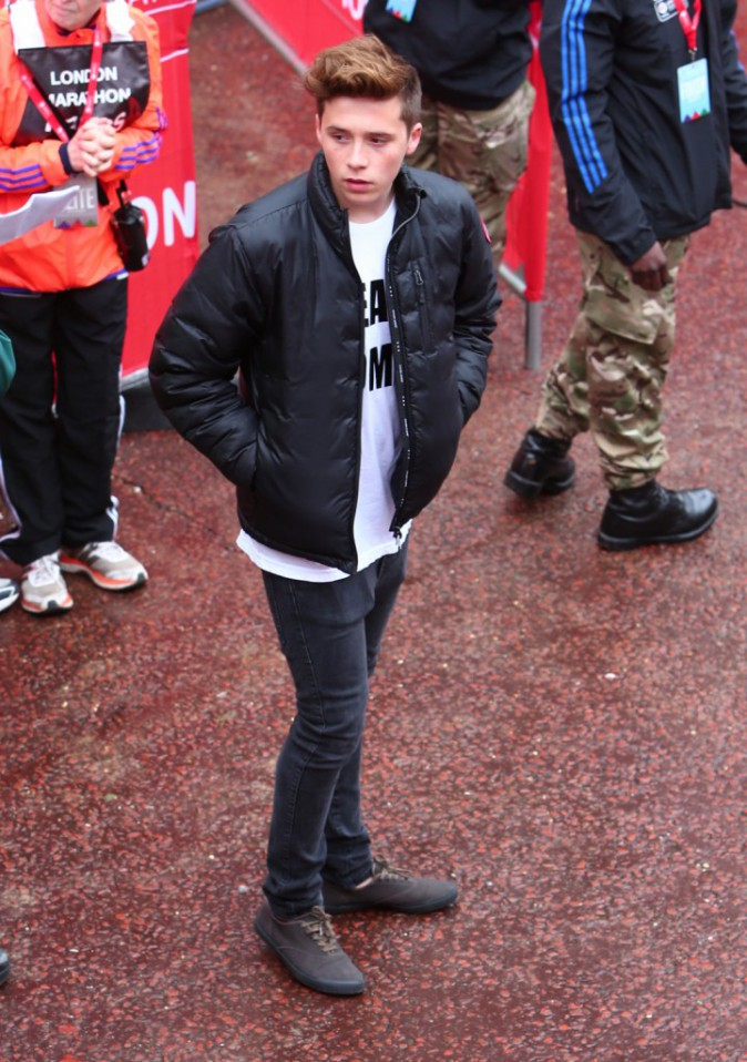 "Photos : David et Victoria Beckham : ""Team Romeo"" pour encourager leur fils !"