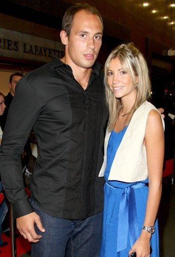 Alexandra Rosenfeld et son compagnon Sergio Parisse