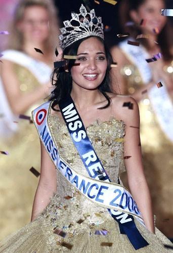 Valérie Bègue, Miss France 2008 élue le 8 décembre 2007
