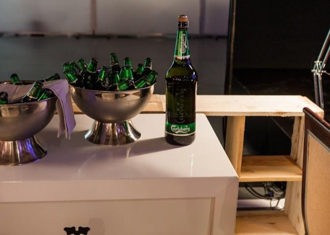 Décoration au top pour la soirée Carlsberg !