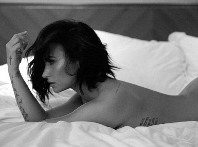 Demi Lovato est toute nue pour son nouveau single