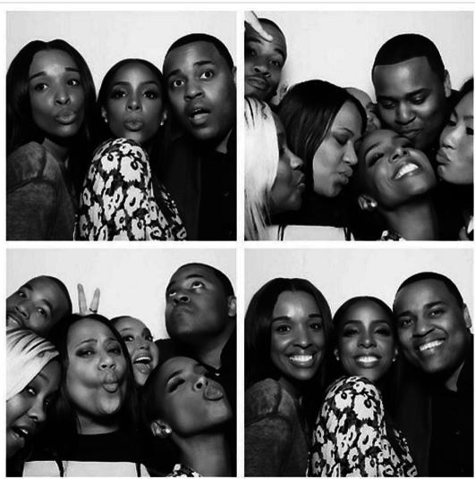 Kelly Rowland a prévu un photobooth pour son anniversaire