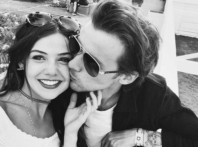 Danielle Campbell et Louis Tomlinson à Coachella