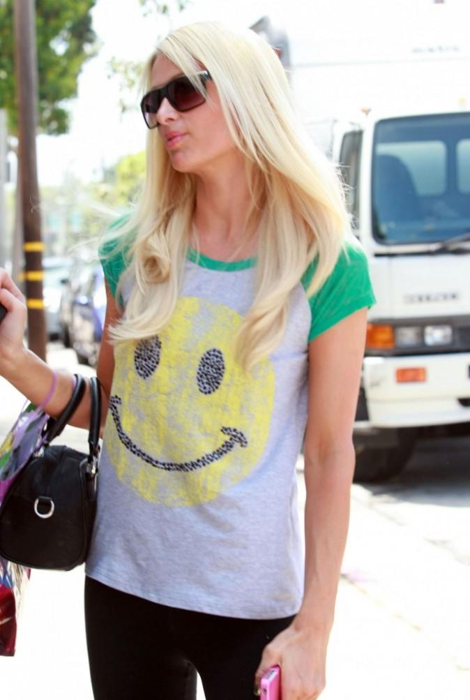 Heureusement que le t-shirt a un smiley !