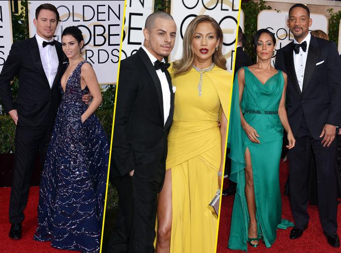 Diapo Photo: Golden Globes 2016, Tous les couples glam de la soirée.