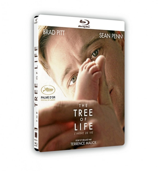 The Tree of Life de Terrence Malick, avec Brad Pitt et Sean Penn. DVD et Blu-Ray. Europacorp. 19,99€