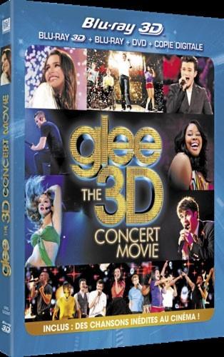 Le DVD de la semaine : Glee, le concert 3D de Kevin Tancharoen. avec Dianna Agron, Chris Colfer, Lea Michele. Fox Pathé Europa. 19,99 € : Génialissime !
