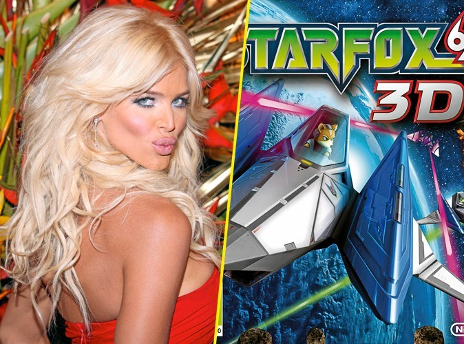 Victoria Silvstedt, on lui conseille: Starfox 64 3D
