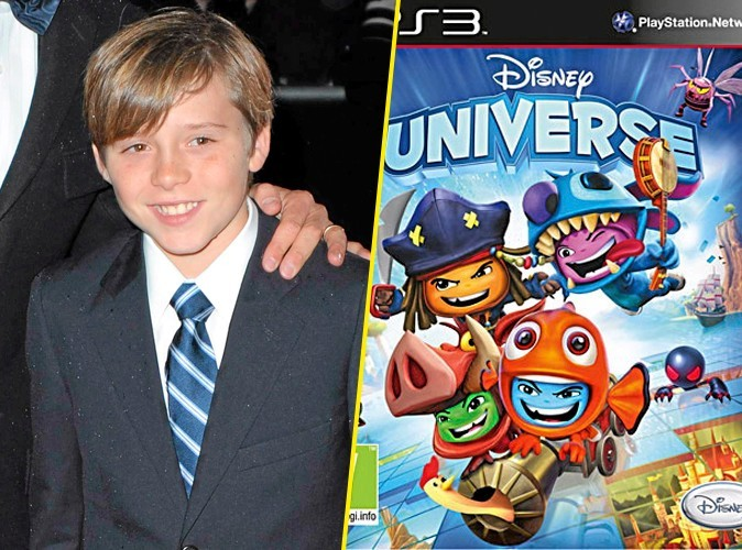 Brooklyn Beckham, on lui conseille : Disney Universe, Disney Interactive, PS3. 50€